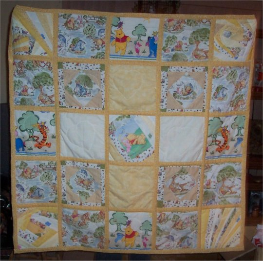 Baby Winnie The Pooh Quilts T